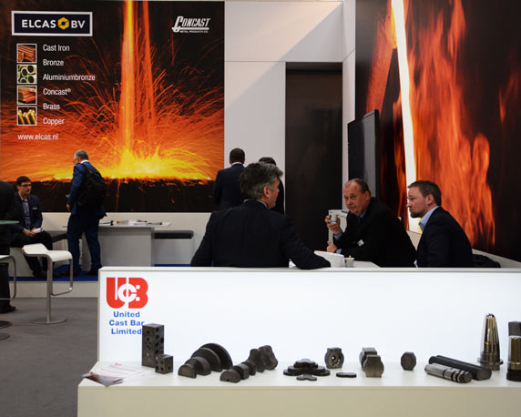 United Cast Bar Group, UCB, Messestand, Hannover