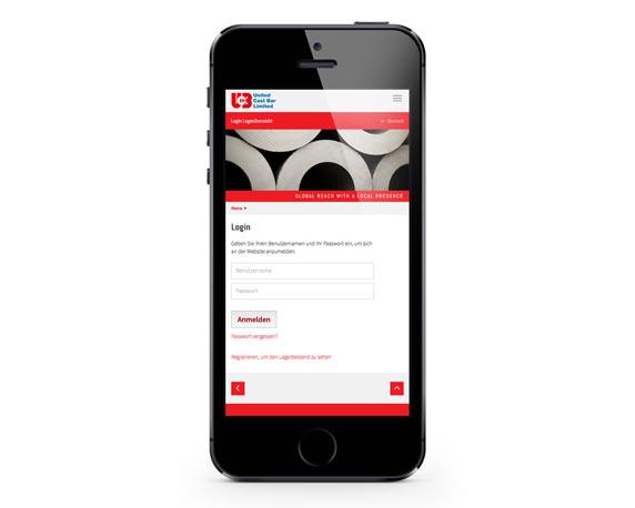 United Cast Bar Group, UCB, Website, Smartphone
