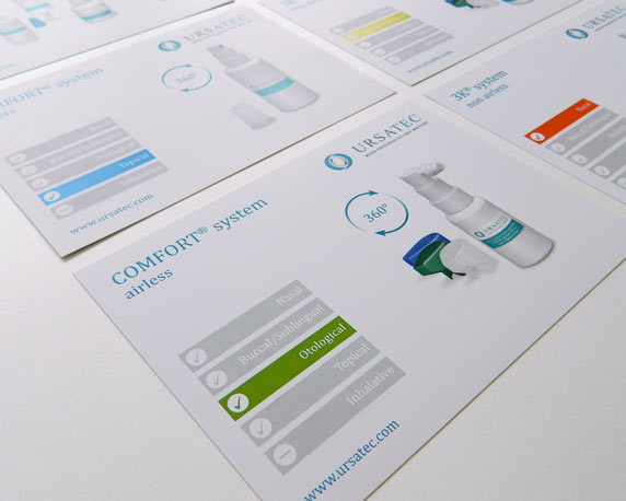 Ursatec, Produktkarten