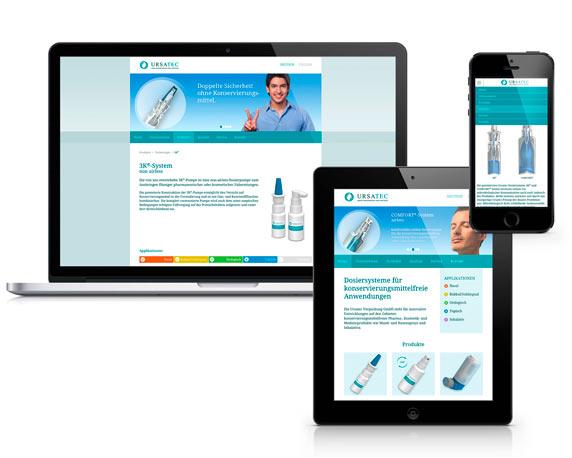 Ursatec, Website