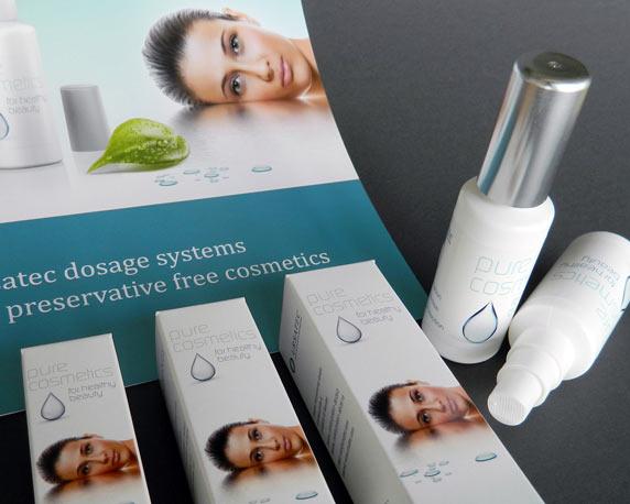 Ursatec, Dosiersysteme, Pure Cosmetics