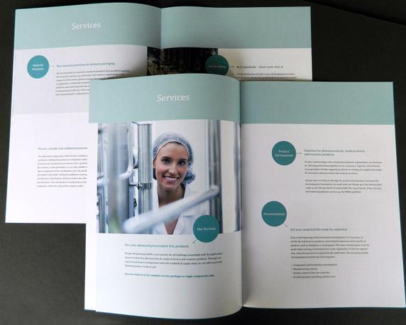 Ursatec, Dosiersysteme, Pure Cosmetics, Produktbroschüre