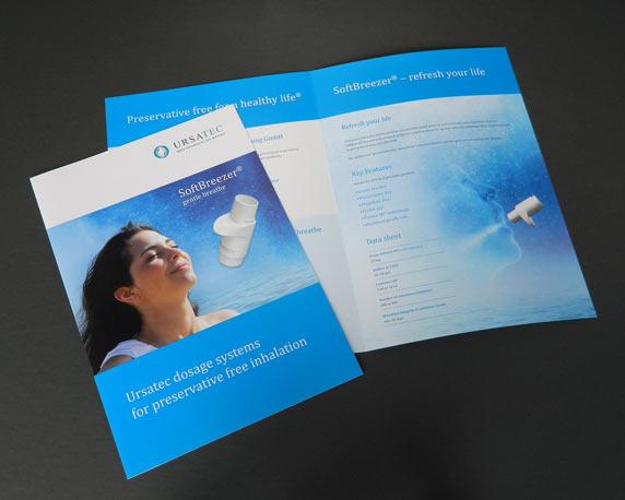 Ursatec, SoftBreezer®, Inhalationssystem, Nebulizer, Produktfolder
