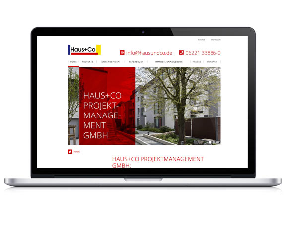 Weidenhammer Gruppe, Haus+Co, Tochterunternehmen, Website, Brühl