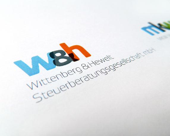 Wittenberg & Hewelt Steuerberatungsgesellschaft mbH, Corporate Design, Logo, Werbeagentur magenta, Mannheim