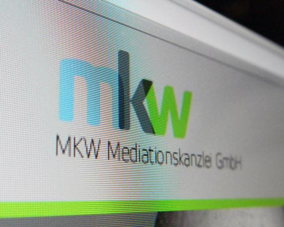 mkw Mediationskanzlei, Website, Webdesign, Werbeagentur magenta, Mannheim