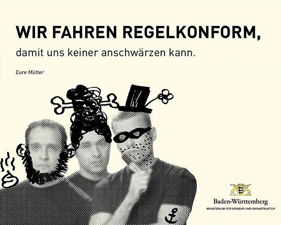 Ironie im Verkehr, ein offener Brief von Reinhard Helfert, Werbeagentur magenta, Mannheim
