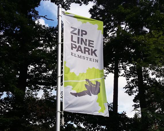 Zipline, Elmstein, Pfalz, Betriebsausflug 2016