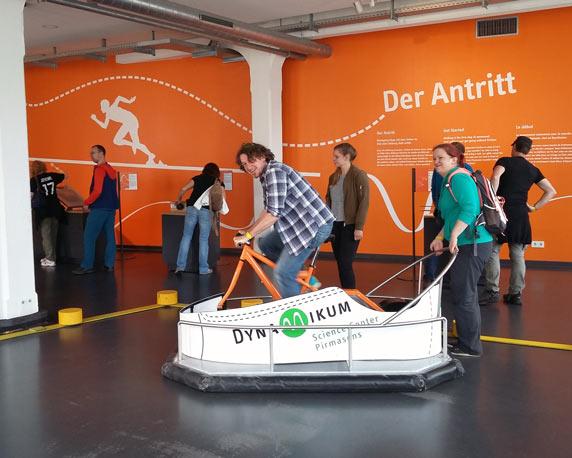 Science-Center Dynamikum, Pirmasens, Pfalz, Betriebsausflug 2016