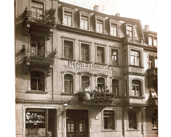 Keplerstraße, Mannheim, Anfang 20. Jahrhundert
