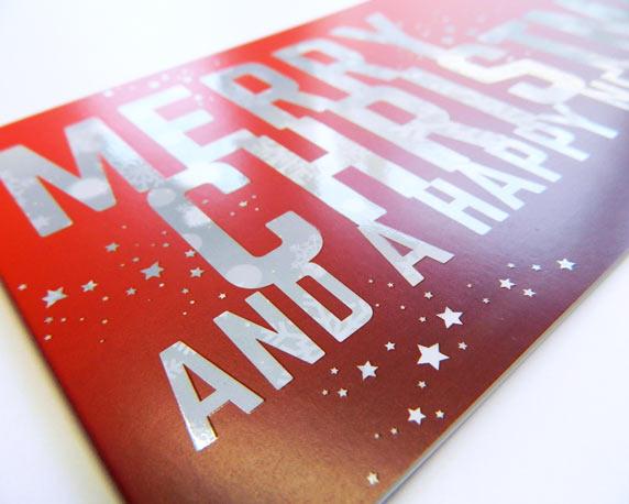 tms, Weihnachtskarte, Vorderseite