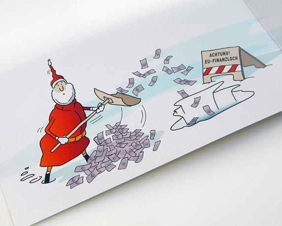 Wittenberg, Weihnachtskarte, Innenseite