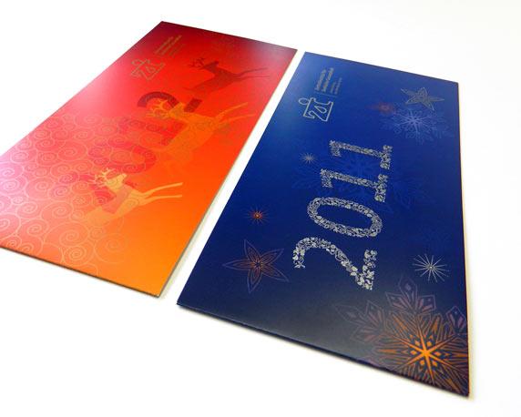 Zentralinstitut für seelische Gesundheit, Weihnachtskarten